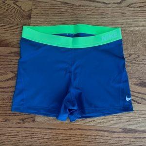 """Nike Pro 3"""" Spandex Shorts"""